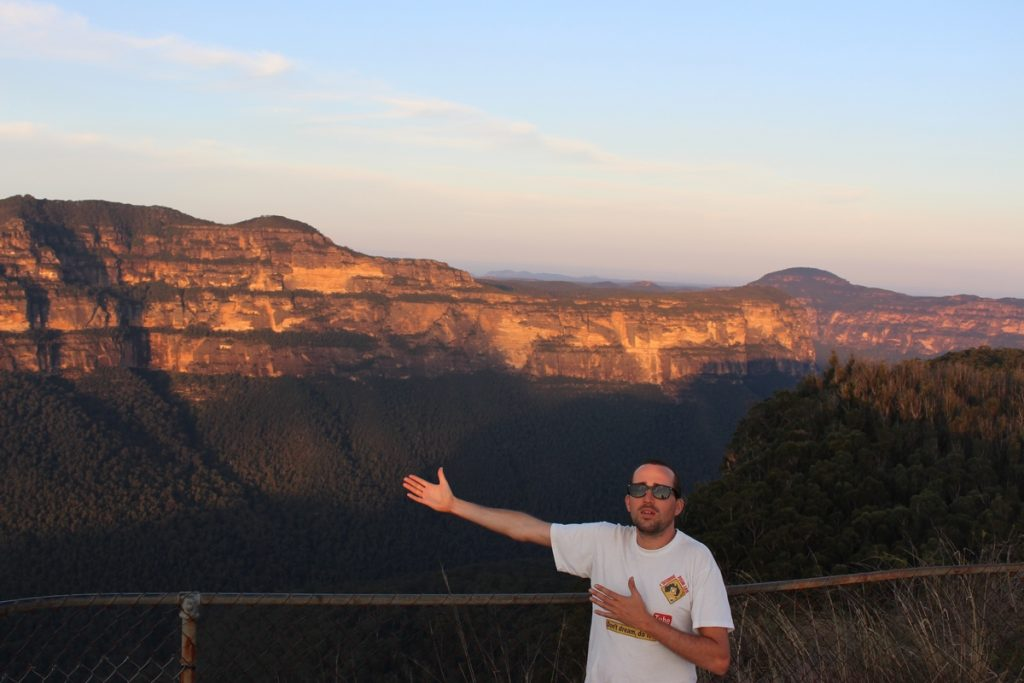 Blue Mountains Australie