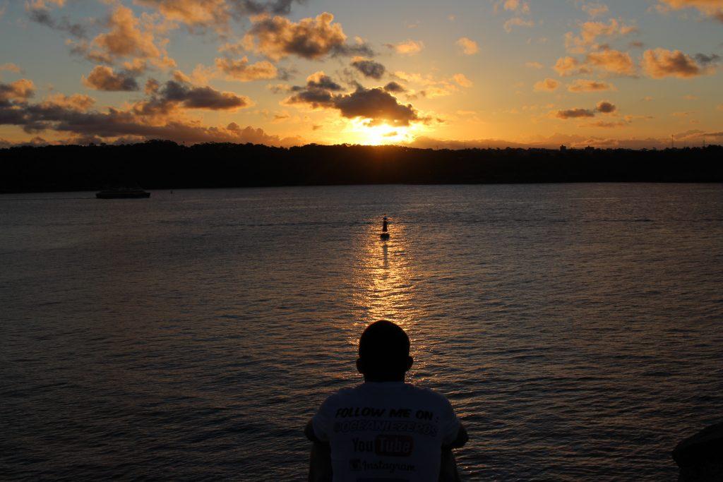 Coucher de soleil, Sydney