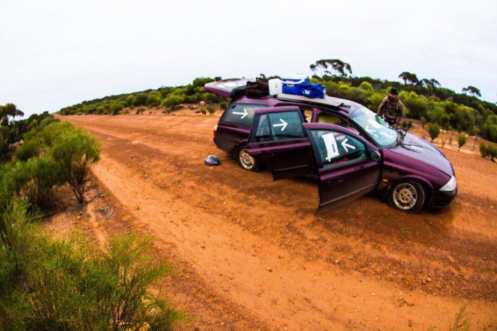 Australie Backpacker survit