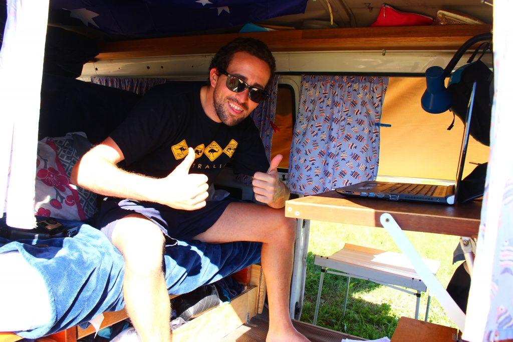 Vivre dans son van en Australie