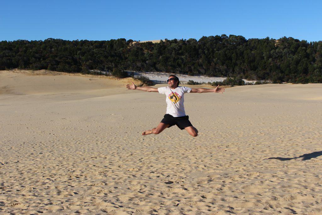 Hammerstone Sandblow, Fraser Island