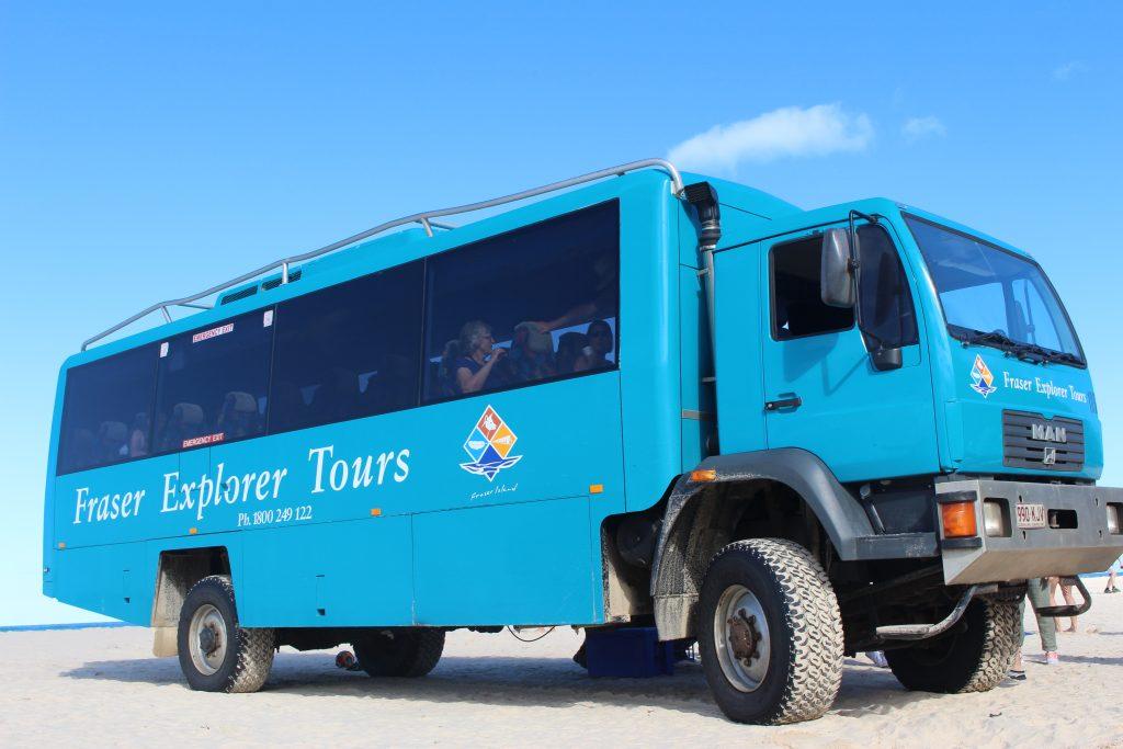 Fraser Explorer Tour, Fraser Island