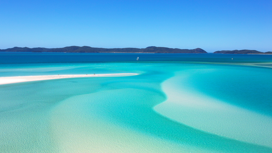 Whitsunday islands, Whitehaven Beach