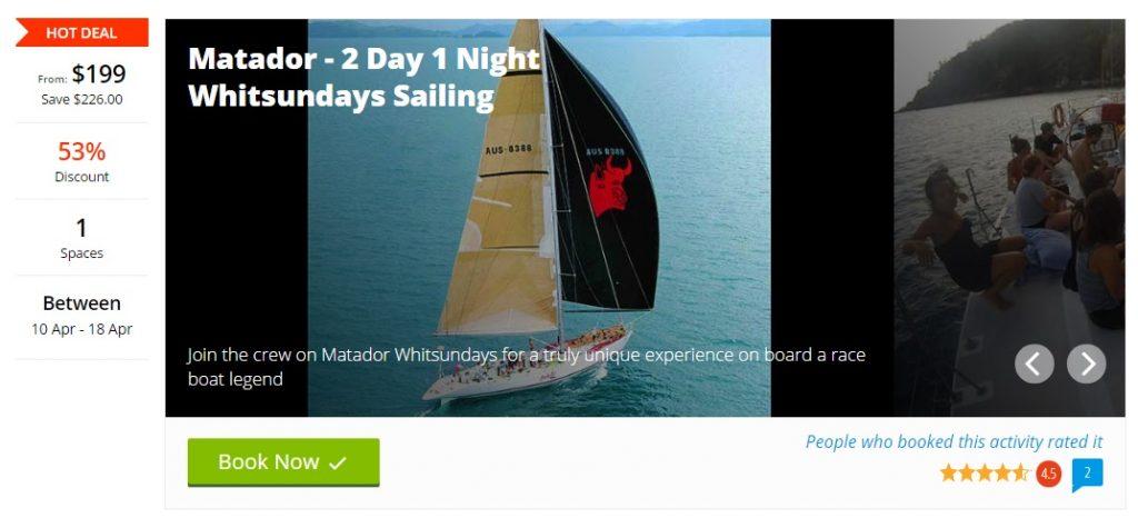 Whitsunday islands, Whitesunday promo