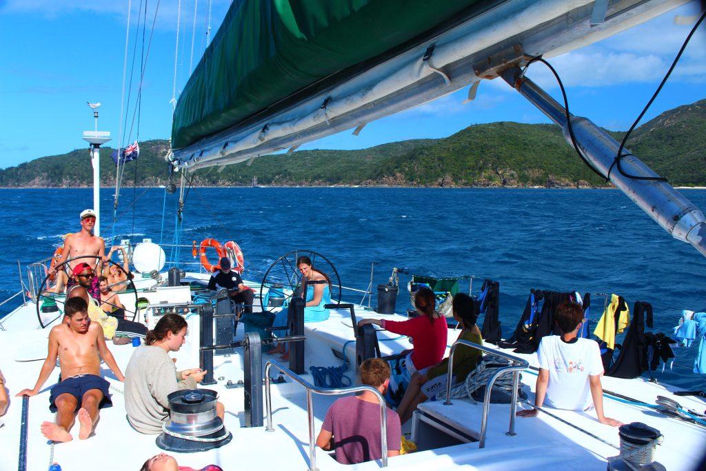 Whitsunday islands, croisière Whitsunday