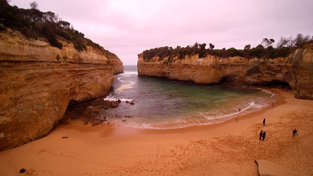 Great Ocean Road, plage grandiose