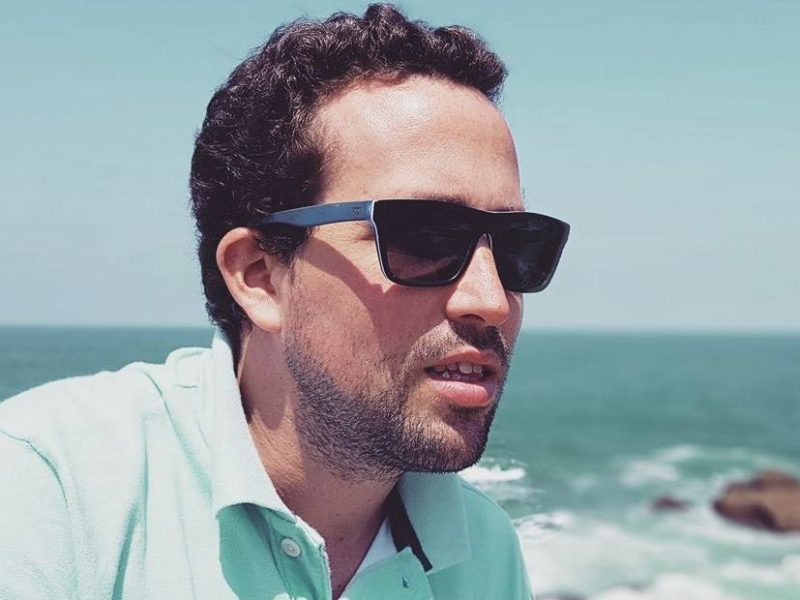Blogueur Damien Delemarle Australie