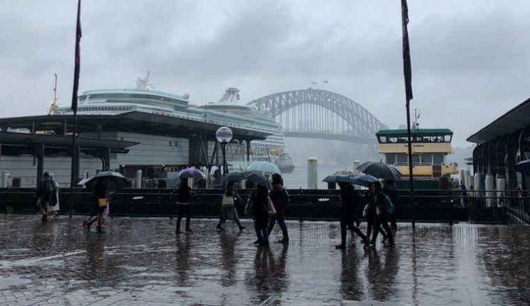Pluie Sydney