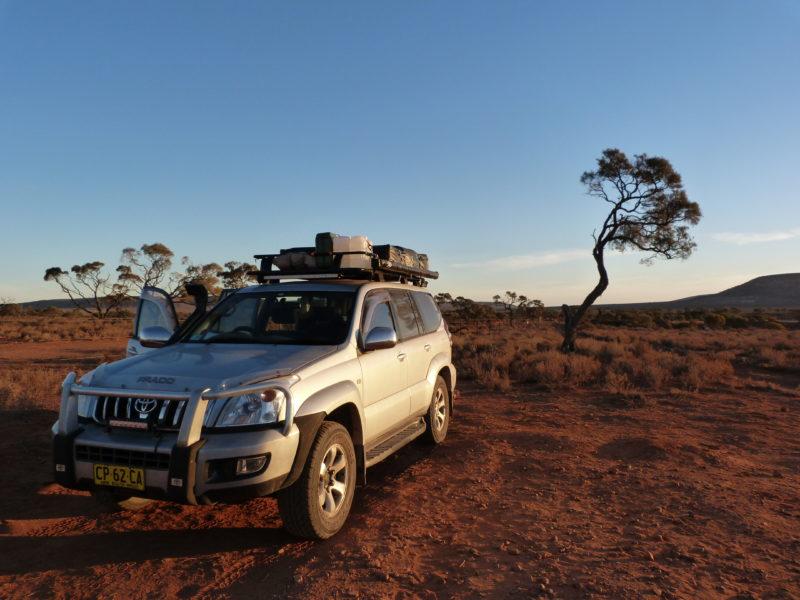 Achat d'un 4x4 en Australie
