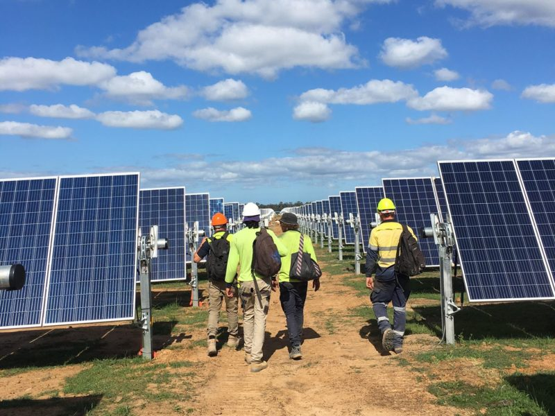 panneau solaire australie