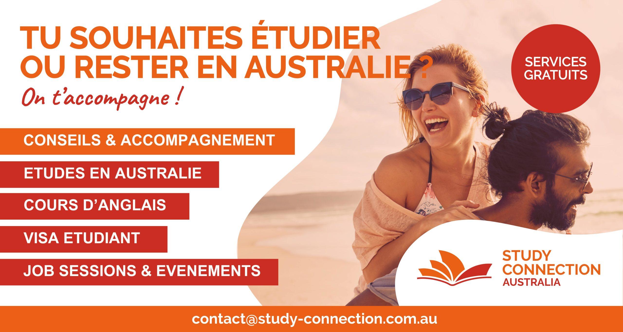 Etudier en Australie , Study Connection Australia